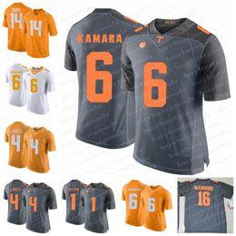 Wholesale peyton manning jersey xxl - Tennessee Volunteers 1 Jason Witten 16 Peyton Manning 6 Alvin Kamara 14 Eric Berry 4 John Kelly NCAA College Football Jerseys Stitched S-3XL