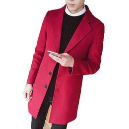 398d4d0a48 Vendita all'ingrosso di sconti Cappotto Rosso Per Gli Uomini in ...