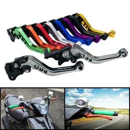 freio rápido Desconto Peças de motocicleta ciclomotor modificado imitação Fuxi WISP Águia rápida mão de freio chifre ajustável mão alavanca GY6