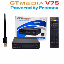 Tv v7 on-line-GTMedia V7S Freesat V7 HD com USB Wifi DVB-S2 HD TV Receptor de Satélite de Apoio PowerVu Biss Key Cccamd Newcamd
