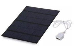 Wholesale Polycrystalline Solar Cells Diy - New Hotsale 3.5W 6V Polycrystalline Solar Panel Solar Cells DIY Solar Charger 165 * 135 * 2mm High Quality Free shipping