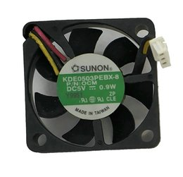 Enfriamiento de 3 hilos online-Sunon KDE0503PEBX-8 3006 5V 0.9W 3WIRE Ventilador de enfriamiento 30 * 30 * 06MM