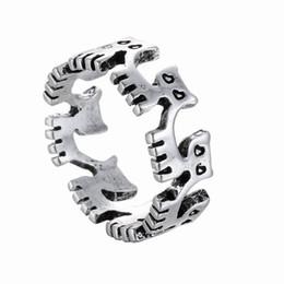 2019 paar ring katze XH Kleine Commodity Großhandel Mode Katze Zubehör Kreative Tide Eröffnung Ring Männer und Frauen Paare rabatt paar ring katze