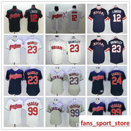 2019 Men s Indians 12 Franciso Lindor 24 Manny Ramirez 99 Ricky vaughn  baseball Jerseys color white gray blue Size S-XXXL e3cb84dfa