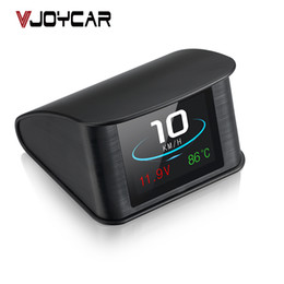 VJOYCAR P10 T600 Automobile OBD2 Computer GPS Auto OBD digitale Guida Tachimetro Chilometraggio Tensione Temperatura TFT Display supplier car mileage da chilometraggio auto fornitori