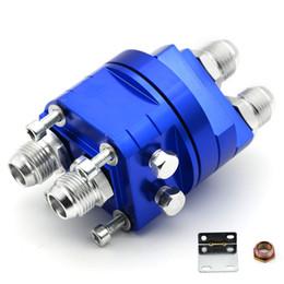 Filtro de resfriamento de óleo on-line-Jogo universal 3 / 4X16,20X1.5 do adaptador do refrigerador da placa de sanduíche do remetente do filtro de óleo