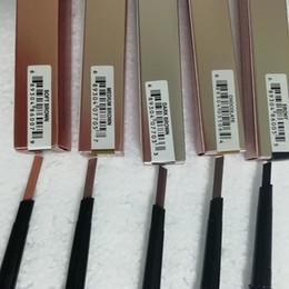 2019 expédition d'ébène Crayon à sourcils double maquillage chaud BROW PENCIL ébène / brun foncé / brun moyen / chocolat DHL Livraison gratuite expédition d'ébène pas cher