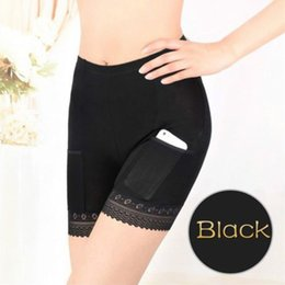 Women Modal Cotton Long Leg Briefs with Pockets Underwear Pettipants French  Knickers Safety Short Pants 073748125
