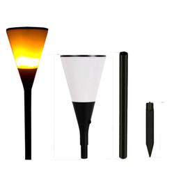 Luz de parede deco on-line-Solar LED luzes de fogo Fogo Cintilando luzes do gramado deco sua parede seu jardim colorido sua vida