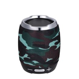 Wholesale bt sound card - Portable Wireless BT Bluetooth Speaker Stereo Sound Box Music Player BT4.1 with Microphone FM Radio Equipped with TF Card