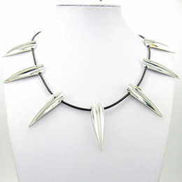 Wholesale Avengers Cosplay - 2018 New Avengers Black Panther Necklace Wakanda King T'Challa Black Panther Cosplay Necklace American Movie Surroundings