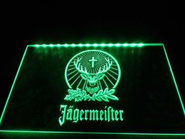 capteur inductif dc Promotion TR001g- Jagermeister Neon Light Sign