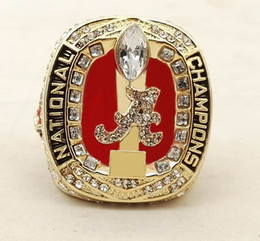 Wholesale Alabama Rings - Size 8-14 For NCAA 2017 Alabama Crimson Tide Championship ring