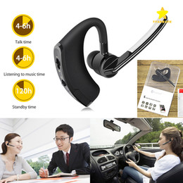 Wholesale Mixed Voice - Bluetooth Headphone Headset Stereo Earphones Wireless Headset Universal Voice Earphone with Mic CSR4.1 with Retail Package