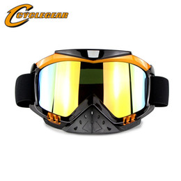 45ddf603 Motocross Goggles Cycling Goggles For Cyclist Motorcycle Outdoor Sports Ski  Goggles Eyewear Glasses Men Motocross Helmet Glasses