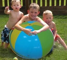 30 stücke Aufblasbare Wasserball Im Freien Sprinkler Sommer Aufblasbare Wasserspray Ballon Im Freien Spielen Im Wasser Wasserball von Fabrikanten