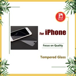 Wholesale Screen Protectors For Iphone 5c - For iPhone 8 Plus X Tempered Glass Screen Protector For Iphone 7 Plus 6 5 5S 5C Film 2.5D 9H Anti-shatter Package