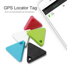 Argentina Mini Smart Finder Bluetooth Tracer Pet Child GPS Localizador Tag Alarma Cartera Key Tracker Ship En 1 Día OTH204 cheap apple tags Suministro