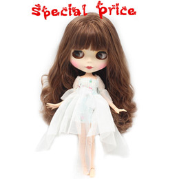 Wholesale Dress Up Doll Plastic - Blyth ICY Nude Factory doll Suitable For Dress up by yourself DIY Change BJD Toy special price