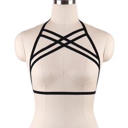 1de431d71c Fashion Wear Fetish Strappy Body Harness Cage Bra Top Black Women Lingerie  Black New Custom Body Cage Harness Bra S021