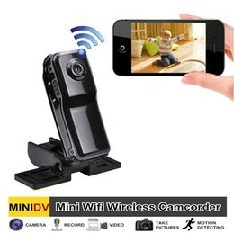 Wholesale Remote Spy - MD81s WIFI P2P IP Mini Portable Sports 480P Spy DV DVR Camera with motion detection and Remote monitor