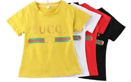 Wholesale 5t costume - New 2018 Cartoon T-shirts Costume Clothing Children T Shirts Fashion Design Kids Clothes