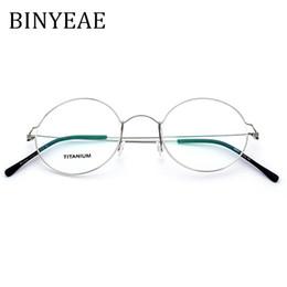 de4372361afc0 óculos coreanos Desconto BINYEAE Eyewear Prescrição Óculos Mulheres  Ultraleve 2018 Rodada Miopia Óptica Dinamarca Coreano Óculos
