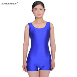 44fc34955a9 spandex suits for women Coupons - New Adult Tank Shorty Unitard for Women  Ballet Dance Wear