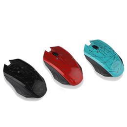 Iluminación de desplazamiento online-2.4 GHz Wireless Mouse USB Optical Scroll con luz LED para tableta Ordenador portátil con embalaje plano al por menor