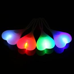 Luces led de huevo online-Ciclismo Bolas Cola Luz de silicona Creativo Bicicleta Impermeable Noche Esencial LED Rojo Luces de advertencia Asiento de bicicleta Volver Lámpara de huevo