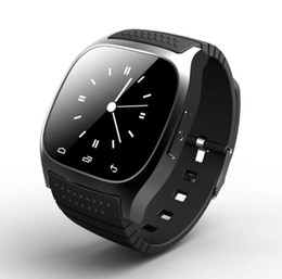 stock smart watch Coupons - In Stock Waterproof Smartwatch M26 Smart Watch With LED Alitmeter Music Player Pedometer For Android Smart Phone