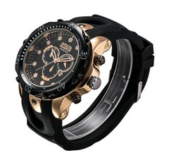 Wholesale Luxury Pro - New INVICTA 2018 sales rose gold Men's Pro Diver SS Speedway Chronograph rubber Steel Watch
