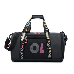 Waterproof Larger Capacity Crossbody Shoulder Bag Yoga Packs Fitness Bag  Gifts Sport Bags Backpacks Multi-function Bags Barrel Purse YJB-4 322a545d0cb67