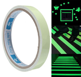 Wholesale Glow Tapes - 12MM 3M Green Luminous Tape Self-adhesive Tape Night Vision Glow In Dark Safety Stage Home art Deco DDA143