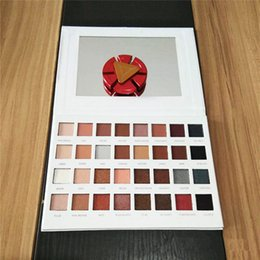 Wholesale Eye Shadow 32 Color - Hot sale of three generations of 32 color eye shadow plate luster matte makeup plate new eye shadow