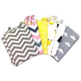 Wholesale Nursing Cloths - 7 Style INS Udder Cover Baby Infant Breast feeding stripe Nursing Cover Cotton Cloth Towel Anti exposure mom Breastfeeding towel B11