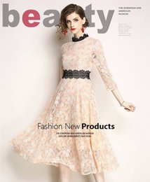 3caec13241f Fashion Spring and Summer lace dresses