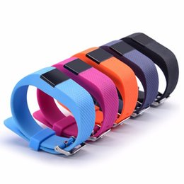 Wholesale Ios Upgrade - TW64S Smart Bracelet Fitness Heart Rate Smart band Wristband Tracker Bluetooth 4.0 Watch for ios android TW64 upgraded version with Package