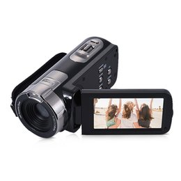 caméra cachée de vision nocturne sans fil Promotion Caméra vidéo numérique Full HD 1080p avec écran ACL de 24 pouces, zoom numérique 16MP, anti-vibration, caméscope DV