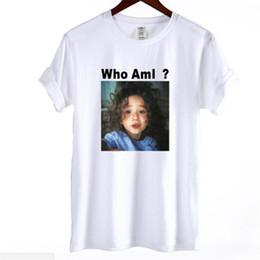 ee728939e65 2018 versión coreana ins manga corta camiseta casual femenina de gran  tamaño T-shirt viento coreano chica que soy tendencia chaqueta tamaños de  la camiseta ...
