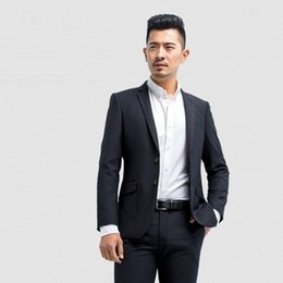 professional clothing style Coupons - suits Korean style business professional dress suit Western-style clothes wholesale Men's clothing