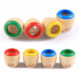 Wholesale toy kaleidoscopes wholesale - Classical Wood Bee-eye Interesting Effect Magic Kaleidoscope Baby Montessori Learning Early Educaional Toys Send Randomly
