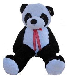 """Brinquedo material panda gigante on-line-Gigante Enorme Grande 63 """"Urso Panda Stuffed Plush Animals Toy boneca Xmas Presente de Aniversário"""