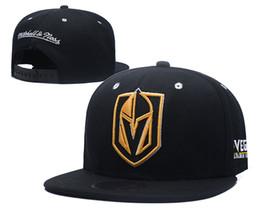 Anaheim mächtige enten hut online-Neueste Design Hot 2019 Mighty Hockey Hysteresenhüte Anaheim Ducks Bone Flat Vegas Golden Knights Herren Baseballmützen