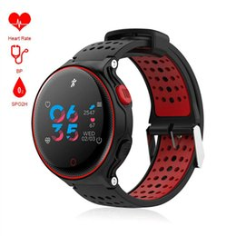 Wholesale x2 phone wholesale - X2 Plus Smartwatchs Bluetooth Smart Watch IP68 Waterproof Bracelet Heart Rate Blood Pressure Monitor For iPhone IOS Android Phones