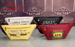 Wholesale Phone Letter - 2018 new brand designers pu Waist Bags women Fanny Pack bags bum bag Belt Bag men Women Money Phone Handy Waist Purse Solid Travel Bag