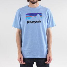 Patagonia мужской магазин наклейки Responsibili тройник с коротким рукавом футболки железной дороги синий смешно бесплатная доставка supplier t shirts stickers от Поставщики t рубашки наклейки
