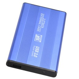 "Wholesale 1tb Hard Disk - HOT-USB 3.0 HDD SSD SATA External Aluminum 2.5"" Hard Drive Disk Box Enclosure Case up to 1TB 2.5"" SATA external case"