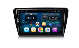 Skoda dvd android online-10.2 pulgadas HD1024 * 600 Android 6.0 Car Dvd Gps para Skoda Octiva 2015–1080PHW 1GBDDR, 16GB SOPORTE DVR OBD 3G 4G DIRECCIÓN ORIGINAL