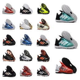 Wholesale Black Leather Tango Shoes - Copa Tango 17.1 TF FG Men's real leather Outdoor Lawn Soccer shoes male soft spike Football Boots New arrival high quality